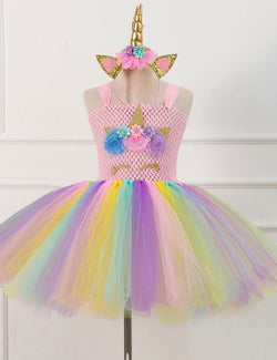 unicorn dress girls