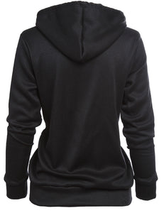 long sleeved couple hoodie