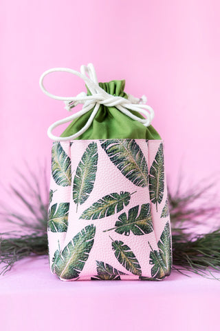 Pink&Leaves bag