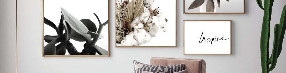gallery wall art prints collaborating with interior stylists and designers Australia