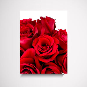 Downloadable Valentines Rose Bunch Wall Art Print Wall Art Print - Yorkelee Prints Australia