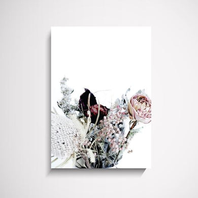 Julie dried flower wall art print Wall Art Print - Yorkelee Prints Australia