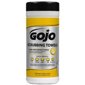 Gojo Wipes Scrubbing Towels 25 Count - Larry The Liquidator