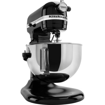 KitchenAid Professional 5™ Plus Series 5 Quart Bowl-Lift Stand Mixer KV25G0XOB - Onyx Black - Larry The Liquidator