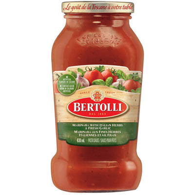 Bertolli Marinara Pasta Sauce, 630ml - Larry The Liquidator