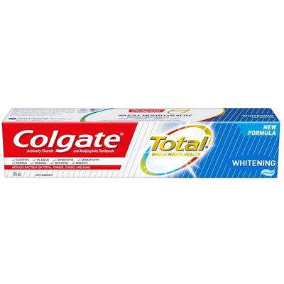 Colgate Total Whitening Gel Toothpaste, 170 mL - Larry The Liquidator