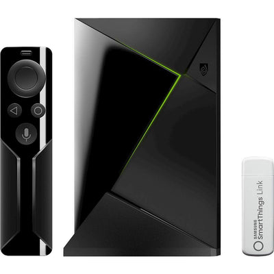 NVIDIA - SHIELD TV Smart Home Edition - 4K HDR Streaming Media Player with Google Assistant - Black - Black - Larry The Liquidator
