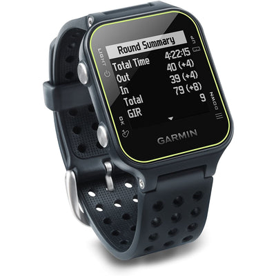 Garmin Approach S20 GPS Golf Watch, Slate - Larry The Liquidator