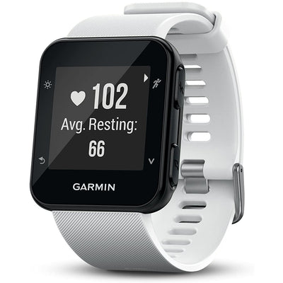 Garmin Forerunner 35, Easy-to-Use GPS Running Watch, White - Larry The Liquidator