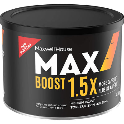 Maxwell House MAX Boost Ground Coffee, 730g - Larry The Liquidator