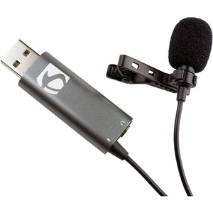 Industry Standard Sound ISSLM420 Omni-Directional Premium USB Lapel Microphone LM420 - Larry The Liquidator