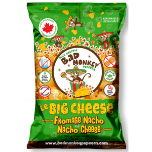 Bad Monkey Popcorn Le Big Cheese (Nacho Cheese), 300g - Larry The Liquidator