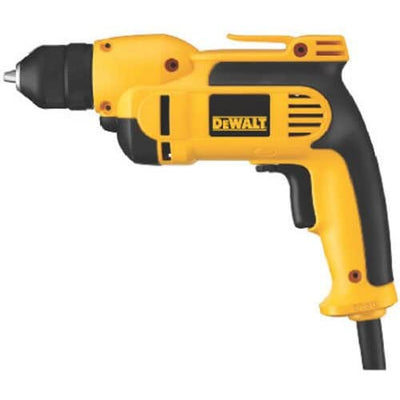 DEWALT VSR Electric Drill, Keyless Chuck, 8.0-Amp, 3/8-Inch (DWD112) - Larry The Liquidator