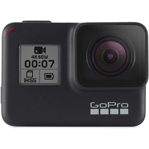 GoPro HERO7 Black — Waterproof Action Camera with Touch Screen 4K Ultra HD Video 12MP Photos 720p Live Streaming Stabilization - Larry The Liquidator