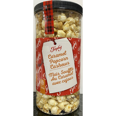 Trophy Caramel Popcorn Cashews 520g - Larry The Liquidator
