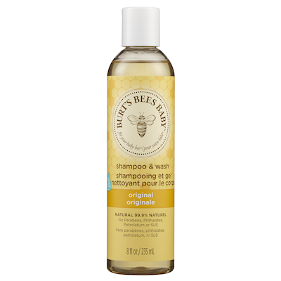 Burt's Bee Baby Bee Shampoo & Wash 235mL - Larry The Liquidator