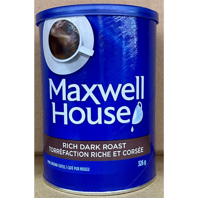 Maxwell House Coffee Rich Dark Roast 326g - Larry The Liquidator