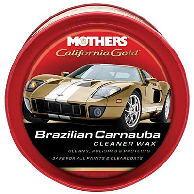 Mothers Brazilian Carnauba Cleaner Wax Paste, 340g - Larry The Liquidator