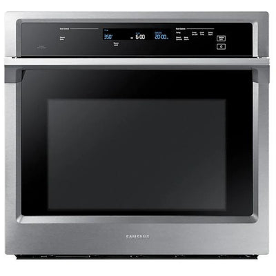 Samsung NV51K6650SS/AA Convection Single Oven with Steam Bake, 5.1 cu.ft - Larry The Liquidator