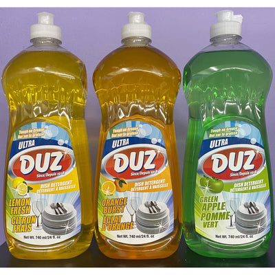 Duz Dish Detergent, 740ml - Larry The Liquidator