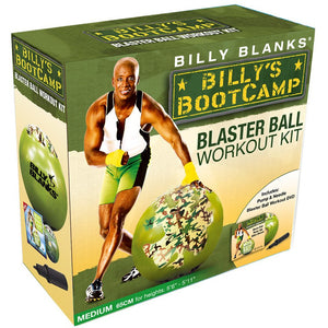 Billy's BootCamp Blaster Ball Workout Kit - Larry The Liquidator