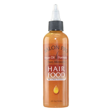 Salon Pro Hair Food Argan Oil, 4 Oz - Larry The Liquidator