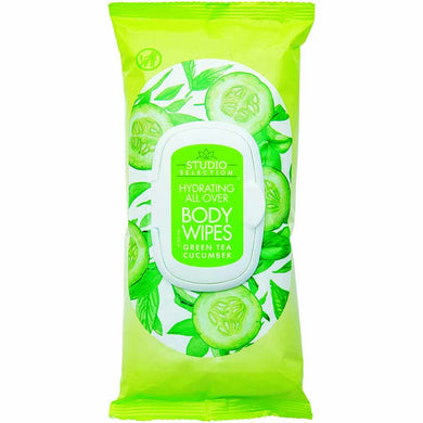 Studio Selection Body Wipes Green Tea Cucumber, 20ct - Larry The Liquidator