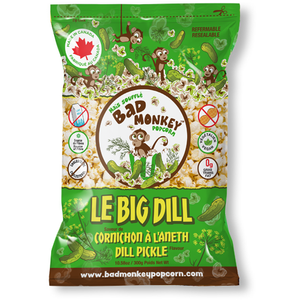 Bad Monkey Popcorn Le Big Dill (Dill pickle), 300g - Larry The Liquidator