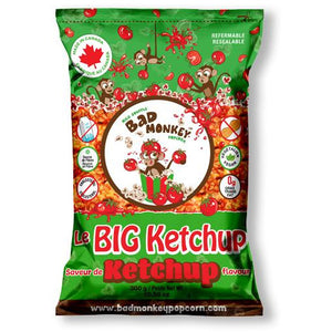 Bad Monkey Popcorn Le Big Ketchup (Ketchup), 300g - Larry The Liquidator