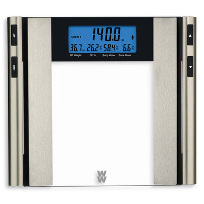 Weight Watchers Glass Body Analysis Scale WW97 - Larry The Liquidator