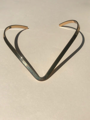 Base Necklace in Gold - Jodie Guirey
