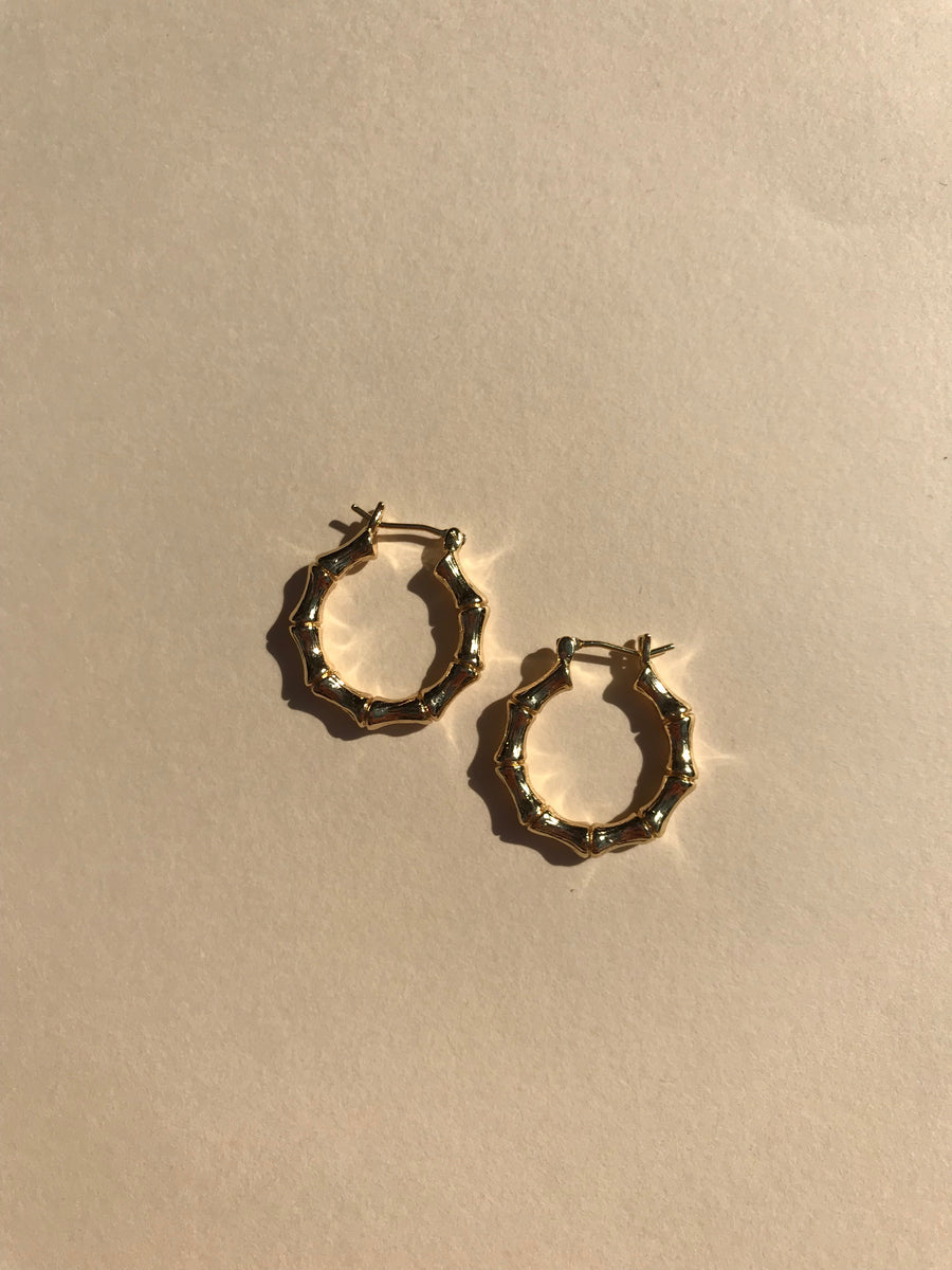 Isis Hoops in Gold-filled