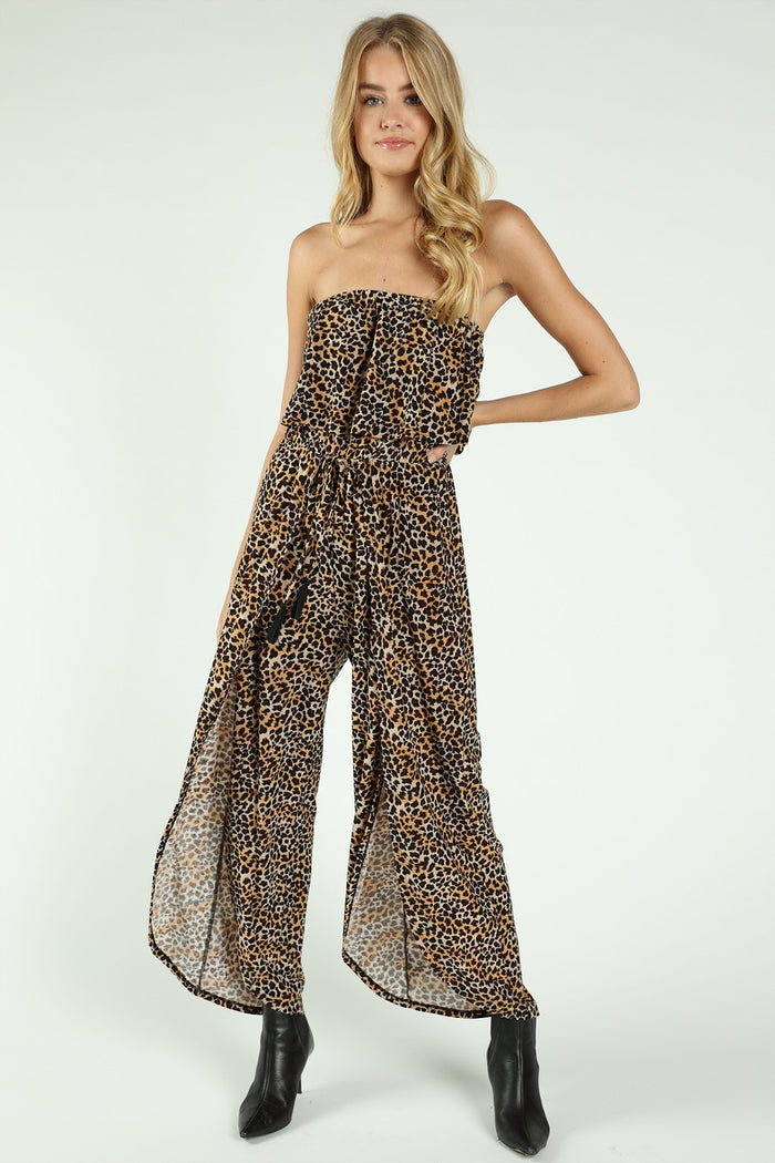 Born to be Wild Leopard Jumpsuit