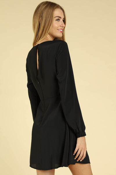 Start the Party Dress, Black