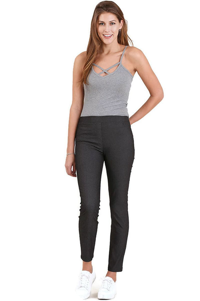 High Waist Jeggings, Black