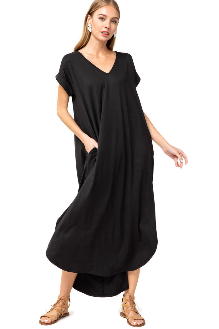 entro everyday pocket Dress black