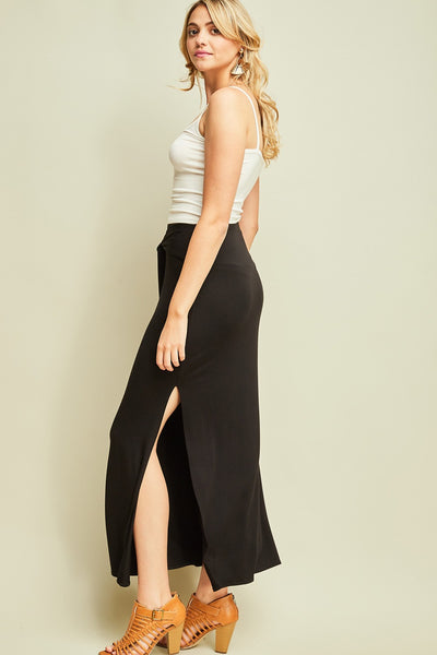 All Occasion Maxi Skirt, Black