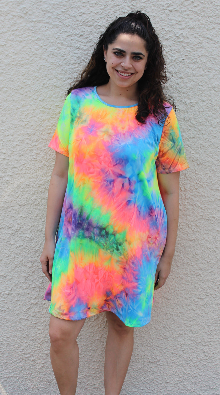 Montego Bay Tie Dye Dress