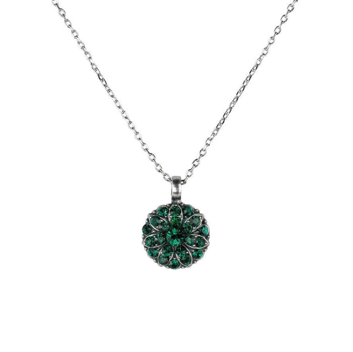 mariana angel necklace may emerald