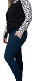Pocket Yoga Leggings, Navy