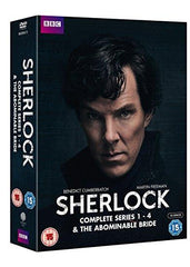Sherlock - Series 1-4 & Abominable Bride Box Set [DVD]
