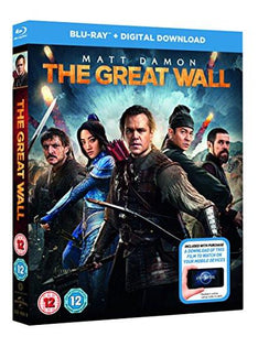 The Great Wall (+ digital download) [Blu-ray] [2017]