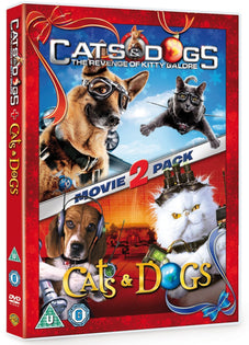 Cats and Dogs 1 and 2 [DVD]