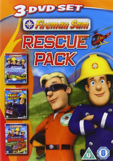 Fireman Sam - Rescue Pack (Triple Pack) [DVD]