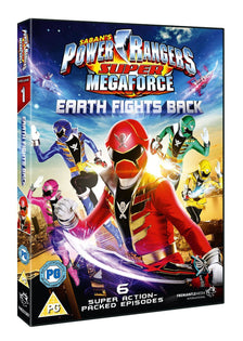 Power Rangers - Super Megaforce Volume 1: Earth Fights Back [DVD]