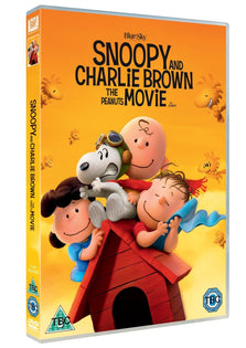 Snoopy And Charlie Brown The Peanuts Movie [DVD]