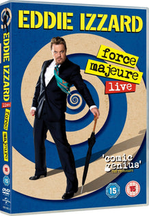 Eddie Izzard: Force Majeure Live [DVD]