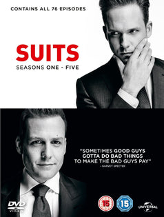 Suits - Season 1-5 [DVD]
