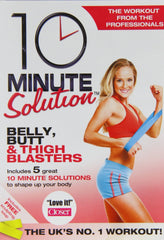 10 Minute Solution - Belly, Butt And Thigh Blasters [DVD]