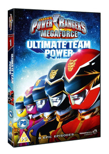 Power Rangers Megaforce - Volume 1: Ultimate Team Power [DVD]